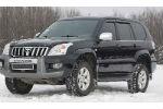 Дефлекторы окон для Toyota Land Cruiser Prado 120 2003-2008 (COBRA, T21803)