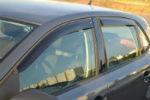 Дефлекторы окон для Volkswagen Polo V (5D) HB 2010+ (COBRA, V22910)