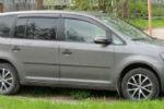 Дефлекторы окон для Volkswagen Touran II 2010+ (COBRA, V23510)