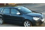 Дефлекторы окон для Volkswagen Polo IV (5D) 2004-2009 (COBRA, V23904)