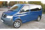 Дефлекторы окон (EuroStandard) для Volkswagen T5 2003+ (COBRA, VE21703)