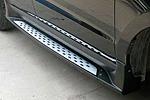 "Боковые пороги ""ML Style"" Hyundai New Santa Fe 2010- (Kindle, DF-B-124)"