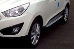 "Боковые пороги ""BMW Style"" для Hyundai IX35 2010-2013 (Kindle, HT-S93)"