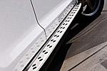 """Боковые пороги """"BMW Style"""" для Kia Sportage 2010-2014 (Kindle, KSP-S01)"""