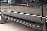 Боковые пороги для Honda CR-V 2007- (Kindle, DF-H-013)