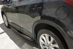 Боковые пороги для Mazda CX-5 2011+ (Kindle, CX5-S21)