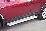 Боковые пороги для Nissan Qashqai 2007- (Kindle, DFQ004)