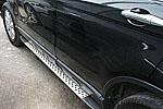 """Боковые пороги Боковые пороги """"BMW Style"""" для Honda CR-V 2007- (Kindle, DF-H-023)"""