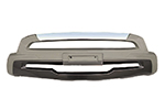 Накладка на передний бампер Hyundai Santa Fe 2010- (Kindle, DS-B-101)