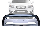 Накладка на передний бампер Hyundai Santa Fe 2010- (Kindle, DS-B-121)