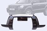 Накладка на передний бампер Hyundai Tucson (Kindle, DS-E-007)