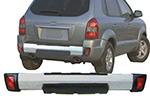 Накладка на задний бампер Hyundai Tucson (Kindle, DS-E-008)