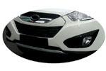 Накладка на передний бампер Hyundai IX35 10- (Kindle, DS-E-101)