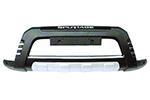 Накладка на передний бампер Kia Sportage 2007- (Kindle, DS-F-005)
