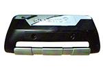 Накладка на передний бампер Kia Sorento 2010-2013 (Kindle, KSO-B91)
