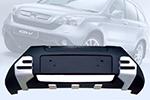Накладка на передний бампер Honda CR-V 2007- (Kindle, DS-H-121)