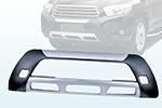 Накладка на передний бампер Toyota Highlander 2007- (Kindle, DS-HTL-001)