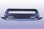 Накладка на передний бампер Toyota RAV4 2006- (Kindle, DS-RV-001)