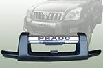 Накладка на передний бампер для Toyota LC Prado 120 2002-2009 (Kindle, TP-B61)