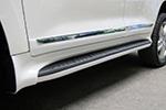 Боковые пороги для Toyota LC200 2012+ (Kindle, TL-S21)