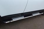 Боковые пороги Emerald для Infiniti FX50 2010- (Can-Otomotive, INF5.EMRLD.47.0720)