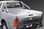 Крышка кузова Toyota Hilux 2005- D/C с дугами (EGR)