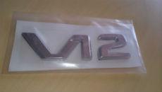 Эмблема (шильдик) для Mercedes V12 (DT, EMB002)