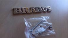 Эмблема (шильдик) в решетку для Mercedes Brabus (DT, EMB013)