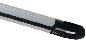 Боковые пороги (Rainbow) для Nissan Skystar (D22)/NP300 2002+ (Erkul, NSSR02RB4B203RW)