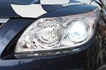 Реснички широкие Hyundai I30 2007- (AD-Tuning, HYI30-FLC)