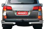 Защита задняя для LEXUS LX570 08- (Winbo, D101112)