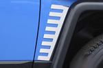 Хром накладки передних и задних крыльев Toyota FJ-Cruiser (Winbo, F098644)
