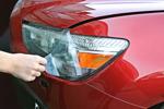 Защитная пленка на передние фары для Chevrolet Aveo 2012- (AutoProTech, BP.CHEVAVCD.PHDT)