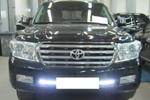 Фары дневного света DRL Toyota Land Cruiser 200 07- (BGT-PRO, DRLTLC200)