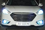 Фары дневного света DRL (в противотуманки) Hyundai IX35 (LONGDING, DRL-HD-02)