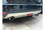 Накладки на бампер переднией и задний для Ford Edge 2013+ (KINDLE, FE-B21)