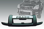 Накладка на передний бампер Toyota LC Prado 120 2003- (Power Ful, (P4111) FJ120-A001)