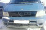 Накладка на решетку радиатора (для зимы, глянцевая) Mercedes Vito 1995-2002 (FLY, FLGL0125)