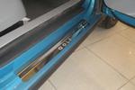 Накладки на внутренние пороги (нерж.) для Volkswagen Golf V 5D 2004-2008 (Nata-Niko P-VW12)