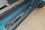 Накладки на внутренние пороги (нерж.) для Volkswagen Golf V 3D 2004-2008 (Nata-Niko P-VW11)