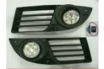 Противотуманные фары (LED) для Fiat Doblo 2006-2010 (Gplast, GPTL02)