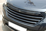 Решетка радиатора «Luxury Generation» для Hyundai Santa Fe 2013- (KAI, HYUNSF13.GRAX-01)