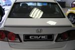 """Задний спойлер """"Сабля"""" на Honda Civic 4d (BK-Tun, HC3SB)"""