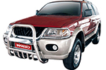 Дуга передняя (кенгурятник) Mitsubishi Pajero Sport 1998-2009 (Power Ful, HD138-MS-A040)
