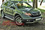 Защита переднего бампера «Cityguard» Honda CR-V 2007- (UAtuning, HD.CRV.C101)