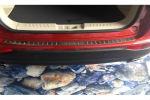 Накладка в багажник (хром) для Chery Tiggo 2014+ (Kindle, TI-P42)