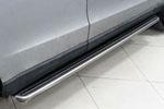 Боковые пороги для Audi Q7 2012+ (Kindle, Q7-S21)