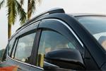 Ветровики с хром вставкой (дефлекторы окон) для Toyota HIGHLANDER 2014+ (S-Line, SL.WD.THGLDR)