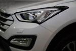 Декоративные накладки на переднюю оптику Hyundai Santa Fe 2013- (KAI, HYUNSF13.HLDP-01)