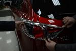 Хромированные накладки задних фар для Mazda CX-5 2011+ (Kindle, CX5-L22)
